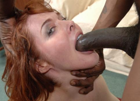 Interracialpass.com- INTERRACIAL PASS | Redhead Wife Cannot Wait To Take Monster Cock