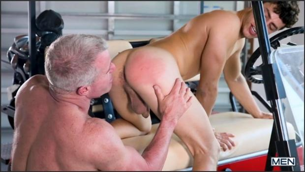 Men.com-The Caddy And The Daddy Part 1: Bareback