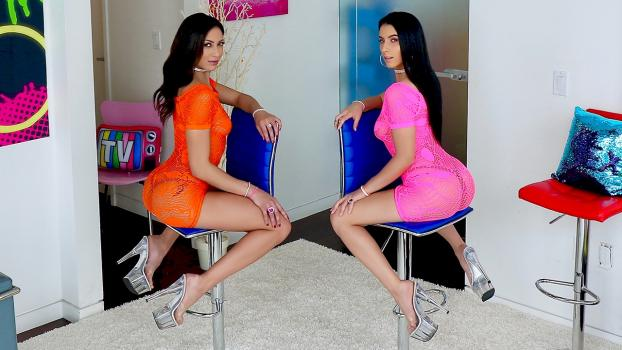 Allanal.com-Gaping Anal 3 Way with Cassie and Nelly